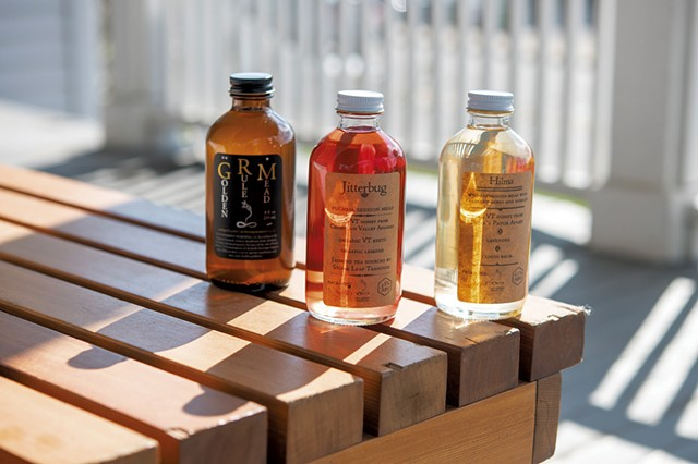 Golden Rule Mead bottles - CALEB KENNA