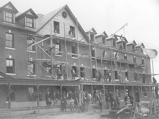 Founders Hall, Saint Michael's College, 1907 - COURTESY OF SAINT MICHAEL'S COLLEGE