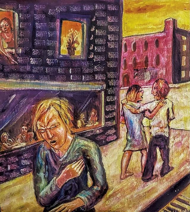"""""""Heartbreak"""" by Tony Shull - COURTESY OF CAROLYN BATES"""