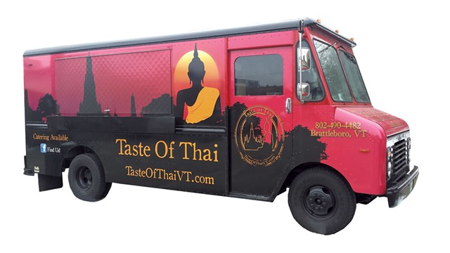 The Taste of Thai food truck - MELISSA HASKIN