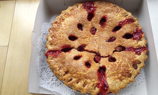 Cherry pie, Vermont Country Deli - MELISSA HASKIN