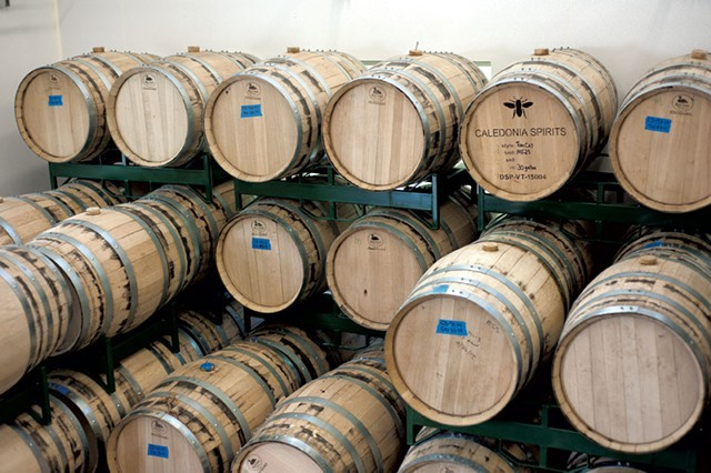 Barrels at Caledonia Spirits - NATALIE WILLIAMS