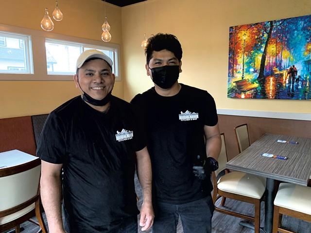 Rup Mizar (left) and Neema Tamang of Himalayan Kitchen and Bar - MELISSA PASANEN