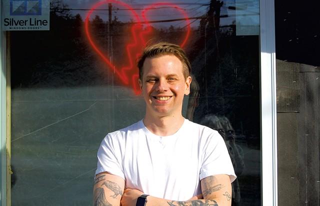 Matt Walker of Broken Hearts Burger - COURTESY OF BROKEN HEARTS BURGER