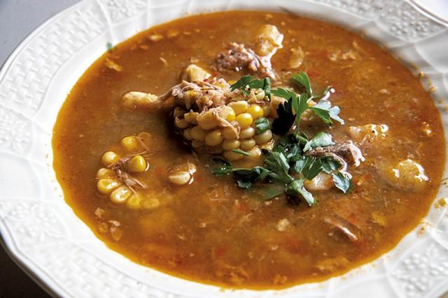 Santiago's ajiaco stew - JAMES BUCK