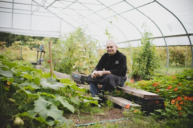 Doug Mack of Mary's Restaurant - FILE: BRENT HARREWYN ©️ SEVEN DAYS