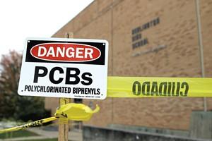 Warnings at Burlington High School - FILE: COURTNEY LAMDIN ©️ SEVEN DAYS