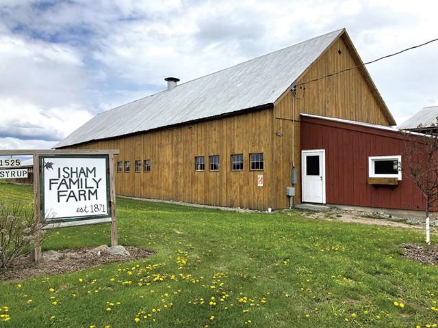 Isham Family Farm - COURTESY OF ISHAM FAMILY FARM