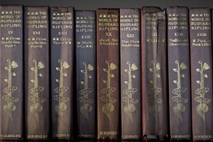 The works of Kipling - COURTESY OF LAURENCE HOLYOAK