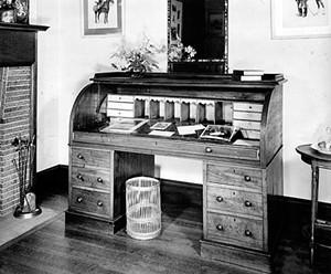 Kipling's writing desk - COURTESY OF LANDMARK TRUST USA