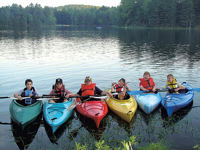 Great River Outfitters kayaks in the Connecticut River - COURTESY OF GREAT RIVER OUTFITTERS