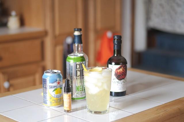 Elder-Ginger-Lemon Spritzer - HANNAH PALMER EGAN