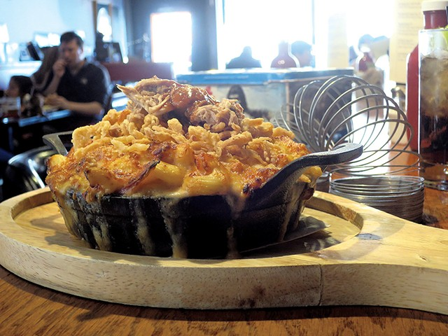 Barbecue mac at Our House - MATTHEW THORSEN