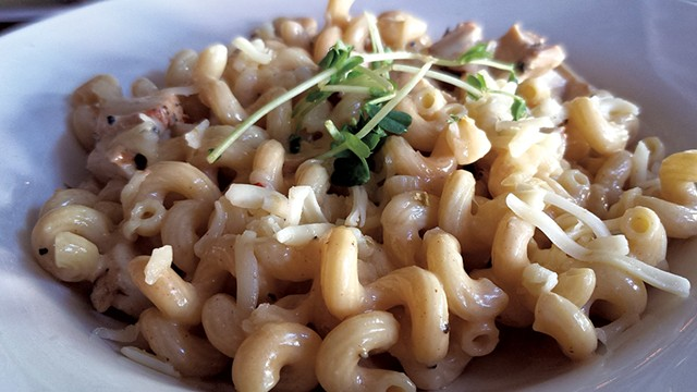 Cajun mac at Daily Planet - MELISSA HASKIN