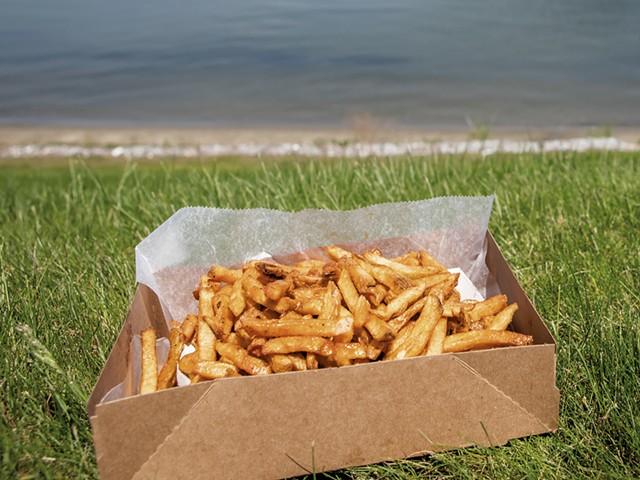 Maple fries at Fry Daze - LUKE AWTRY