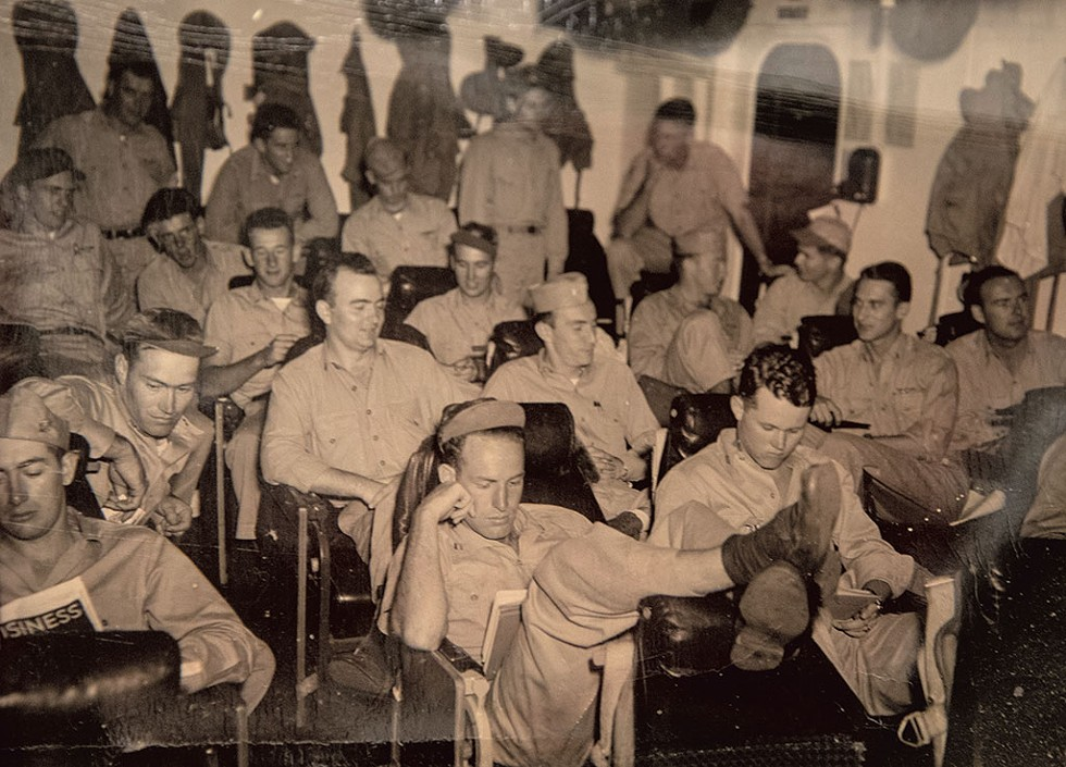 Pilots awaiting a mission - JAMES BUCK