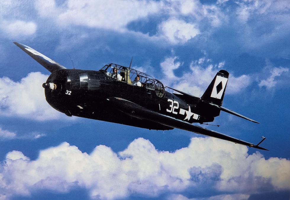 A torpedo bomber - JAMES BUCK