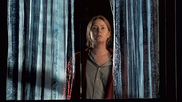 WINDOW PAIN Adams plays a shut-in tormented by the inability to convince anyone she saw a murder next door. - COURTESY OF MELINDA SUE GORDON/NETFLIX
