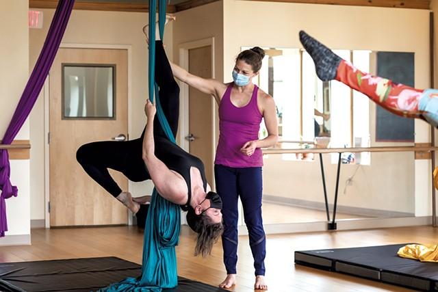 Left: Alison Novak and Nicole Dagesse - LUKE AWTRY
