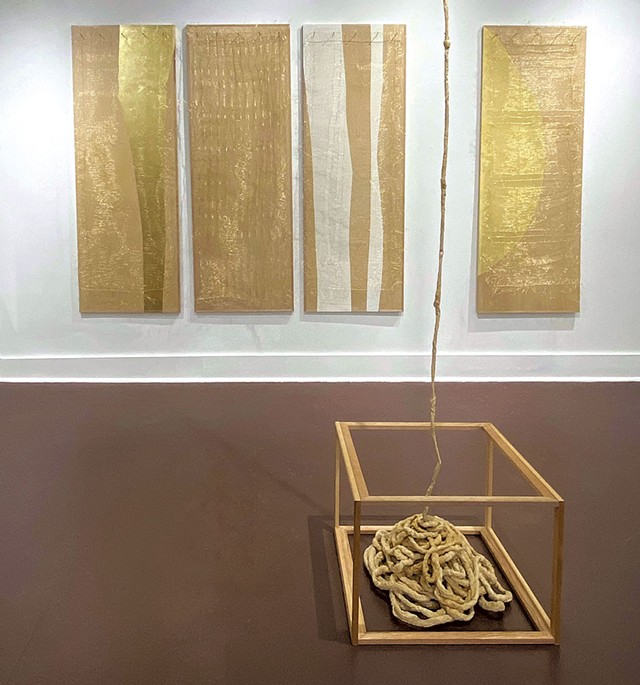 """""""Liquidities"""" by Louise Glass - COURTESY OF STUDIO PLACE ARTS"""