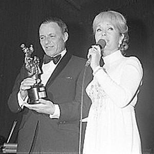 Frank Sinatra and Debbie Reynolds - COURTESY OF TAMARA NICOLAI
