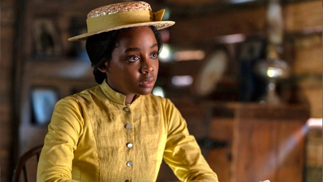 FREEDOM RIDER Mbedu plays a young woman fleeing from enslavement in Jenkins' masterful series. - COURTESY OF AMAZON STUDIOS