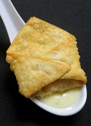 Bacon jalapeño rangoon, Grazers - MATTHEW THORSEN