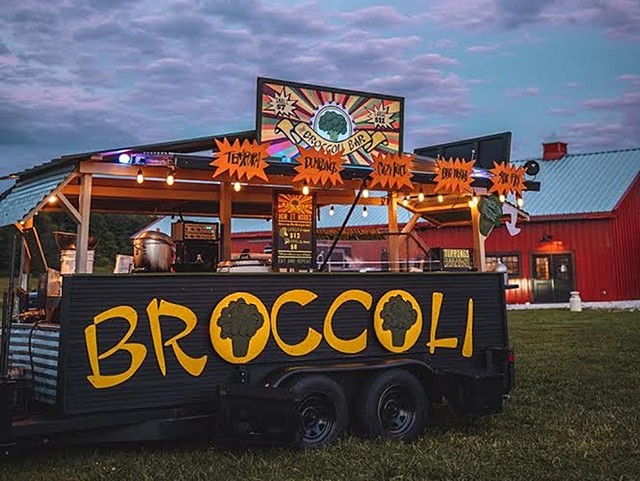 Broccoli Bar Happy Hour - COURTESY OF KROMATIK CREATIONS