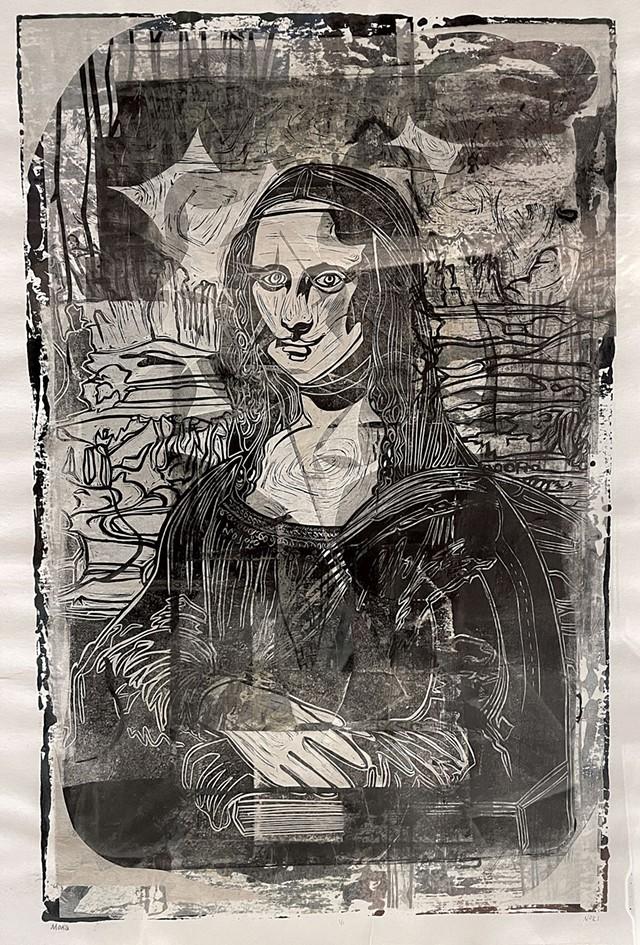 """Mona"" by Nori Pepe - COURTESY OF MARIN HORIKAWA"