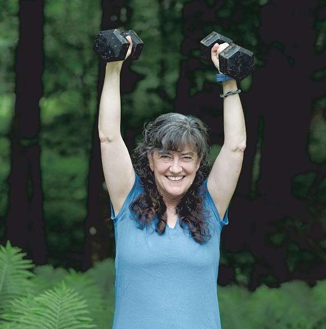 Erin Donahue, Informal fitness instructor, East Thetford - SARAH PRIESTAP