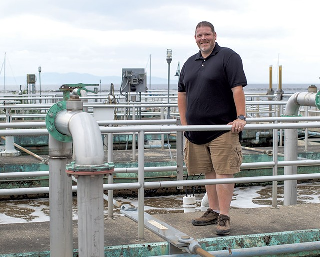 Matt Dow, Wastewater facilities manager, Burlington - LUKE AWTRY
