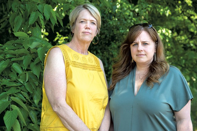 Beth Cobb (left) and Erin Maguire - JAMES BUCK