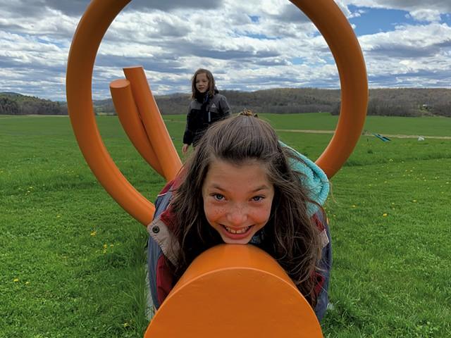 Lemon Fair Sculpture Park - KEN PICARD ©️ SEVEN DAYS