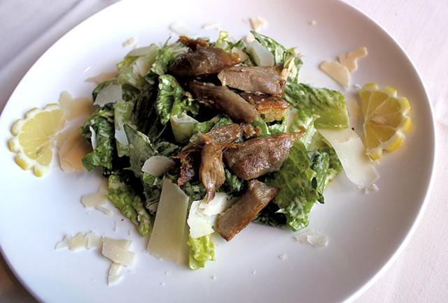 Caesar salad at Peter Havens - ANDREA SUOZZO