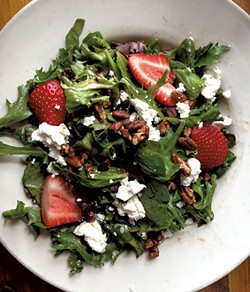 Salad with strawberries - CAROLYN FOX