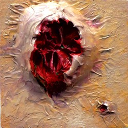 "An ""open sores"" canvas - MATTHEW THORSEN"