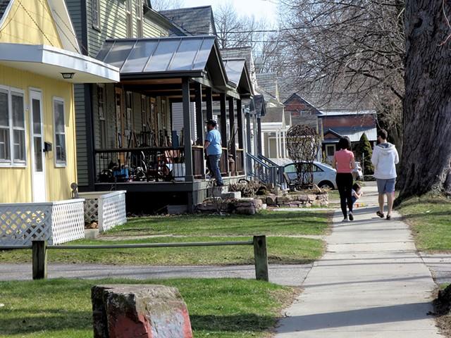 Burlington's Lakeside neighborhood - MATTHEW THORSEN