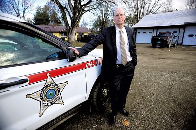 Sheriff Roger Marcoux - STEFAN HARD