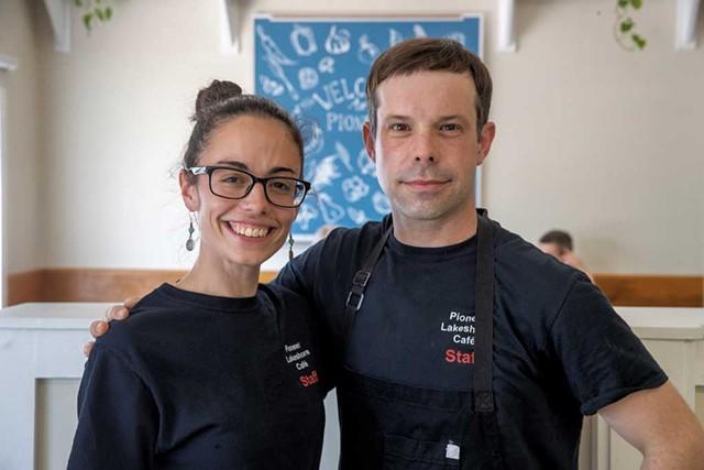 Lindsay Taylor Matecat and Jean-Luc Matecat - JAMES BUCK