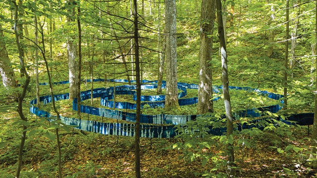 Installation at Equinox Highlands Natural Area - COURTESY OF MICHAEL SACCA