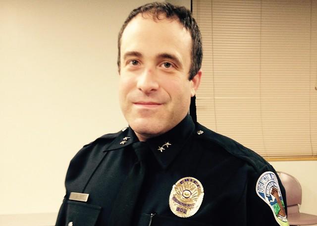Burlington Police Chief Brandon del Pozo - MOLLY WALSH