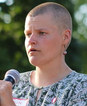 Julie Macuga - COURTNEY LAMDIN ©️ SEVEN DAYS