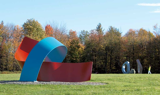 """""""Threading the Needle"""" - COURTESY OF COLD HOLLOW SCULPTURE PARK"""
