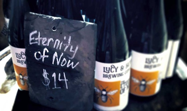 Lucy & Howe Brewing's the Eternity of Now - COURTESY OF JESSE CRONIN