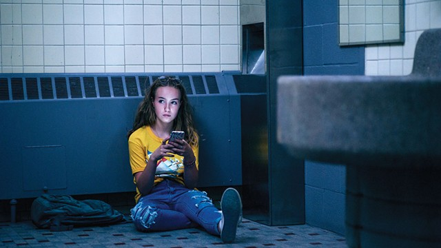 TOWN WITHOUT PITY Bierre plays a young teen whose pregnancy causes a scandal in this indie drama from Québec. - COURTESY OF OSCILLOSCOPE FILMS
