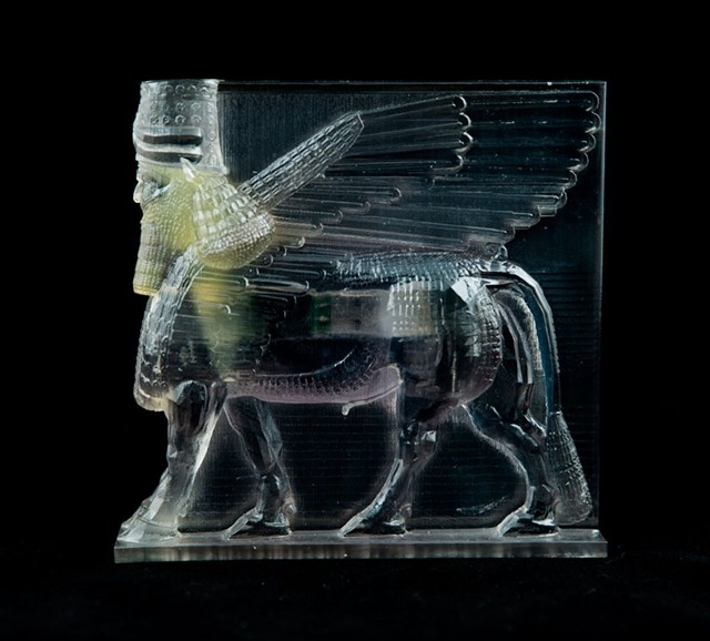 """Lamassu, from """"Material Speculation: ISIS,"""" by Morehshin Allahyari - MOREHSHIN ALLAHYARI"""