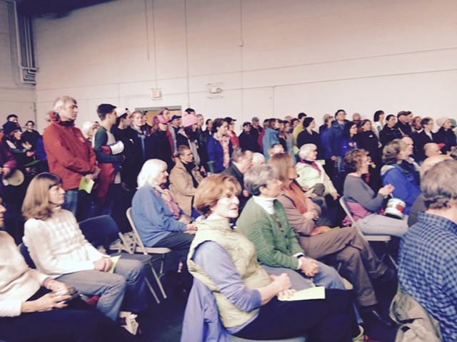 Rally in Shelburne - MOLLY WALSH