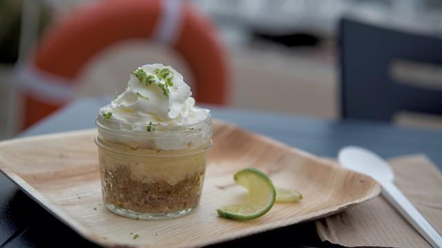 Key lime pie in a jar - DARIA BISHOP