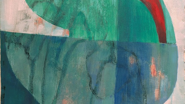 """""""Enigma"""" by Gail Salzman - COURTESY OF FURCHGOTT SOURDIFFE GALLERY-CALENDAR-MAG7-RAVIN"""