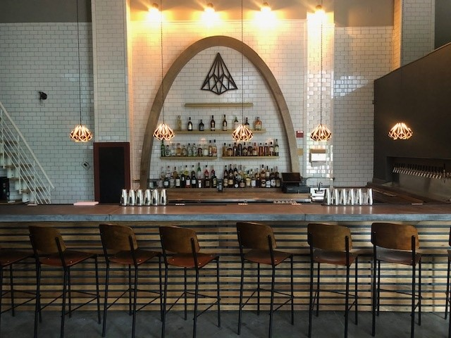 The bar at the Winooski location of the Archives - COURTESY OF MATT WALTERS